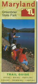 Greenbrier state park trail guide for Maryland dnr fishing license