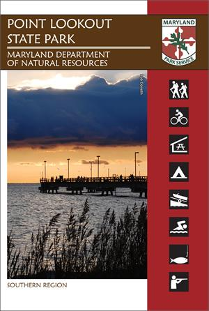 Point lookout state park trail guide for Md fishing report point lookout